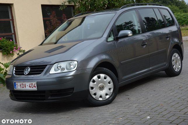 Volkswagen Touran 1.9 TDI_Klimatronic_Czujniki parkowania_Lakier Oryginalny 100%_IDEALNY