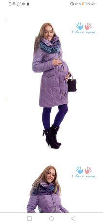Новое слинго пальто пуховик куртка для беременных I love mum