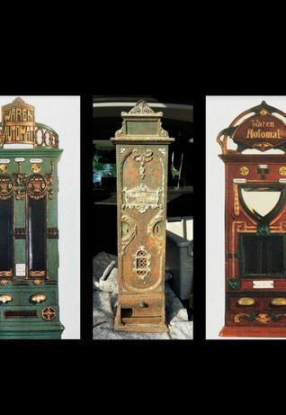 Zamienię Antyk stara reklama przedwojenny niemiecki automat zabytek