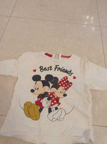Camisola da Minnie Disney Club tamanho 12 meses