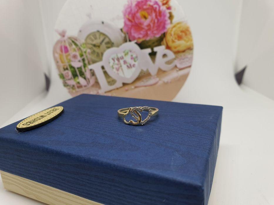 **Nowy złoty pierścionek 1,73g p.585-Lombard Stówka** Michale - image 1