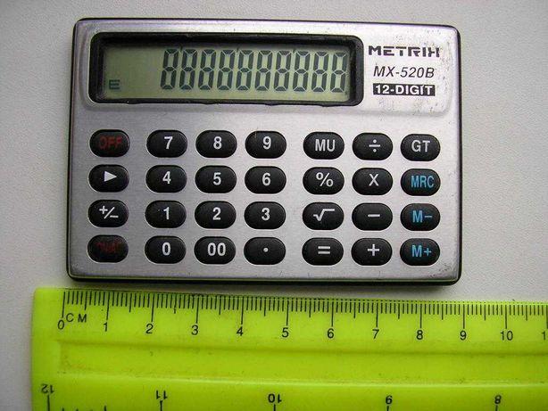 Калькулятор Metrix очень редкий в коллекцию