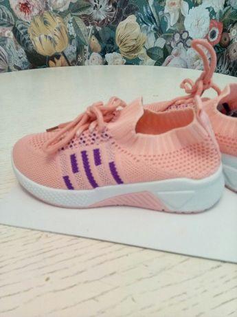 Летние кроссовки для девочки детская обувь взуття Кросівки