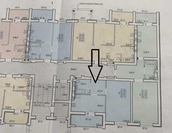 Продам 1 комнатную квартиру в новострое ЖК Сказка Холодная гора