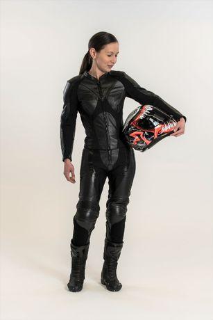 Kombinezon skórzany motocyklowy REBELHORN REBEL damski 2-częściowy