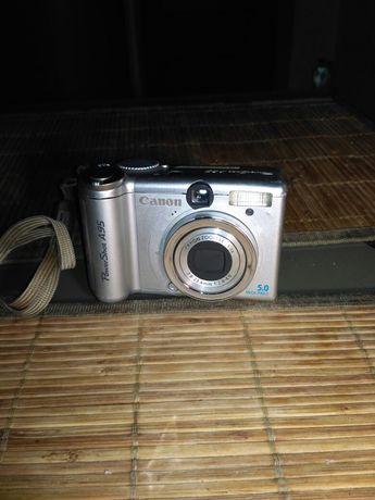 Фотоаппарат в рабочем состоянии.