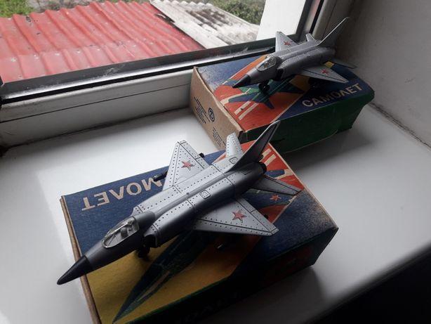 Ретро Игрушка Истребитель СССР