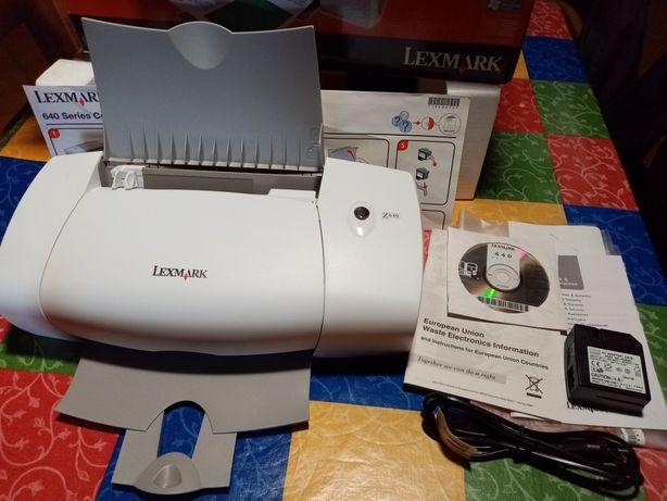 Impressora Lexmark Easy Colour Printer Z640 cores jacto tinta