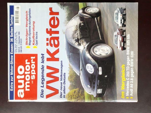 Auto Motor u. Sport Nr 25/1995