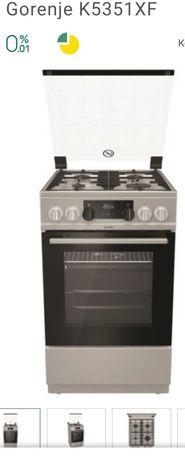 Плита нова комбінована пічка духовка електрична gorenje