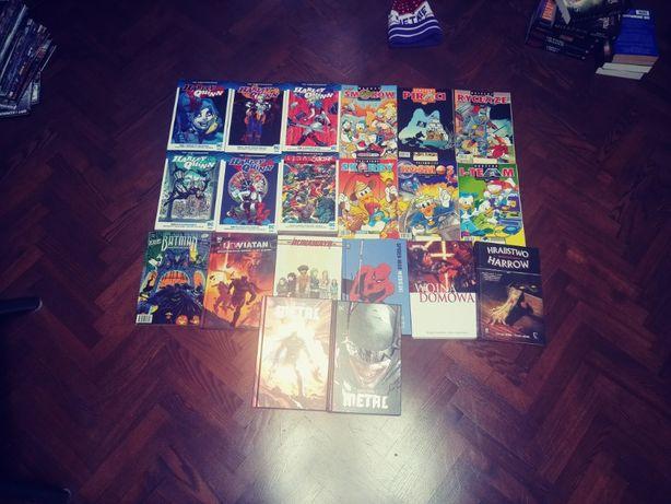 Komiksy - wymienię, zamienię - spider-man, marvel, wojna domowa batman