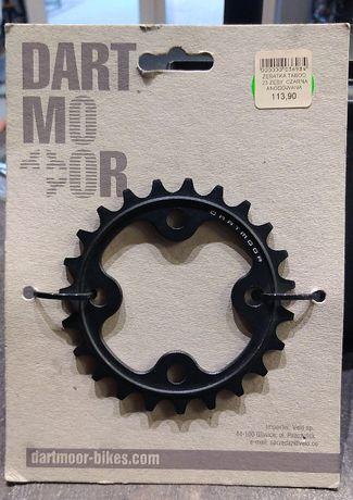 Zębatka 23 z DARTMOOR czrana anodowana TRAIL MTB