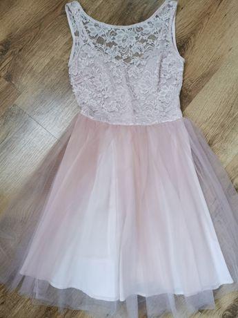 Sukienka tiulowa z koronką Sugarfree