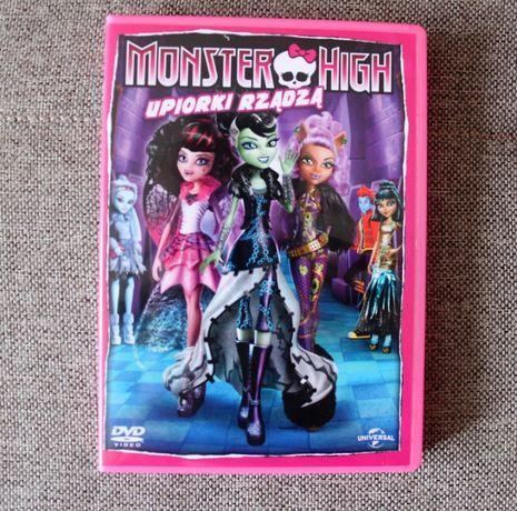 Monster High Barbie bajka DVD bajki dla dzieci plyty