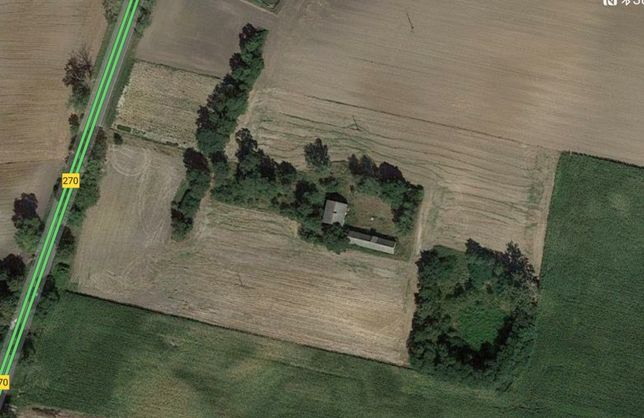 Nieruchomość rolna. Działka 2,09 ha Milżyn gm Lubraniec.