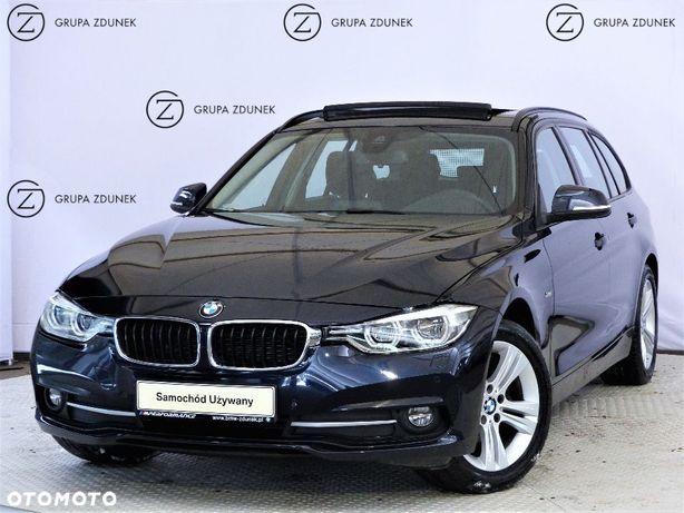 BMW Seria 3 2.0d 190KM xDrive Sport Line Panorama HUD Salon PL 1wł F VAT 23%