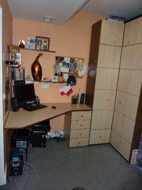 sprzedam szafę z biurkiem