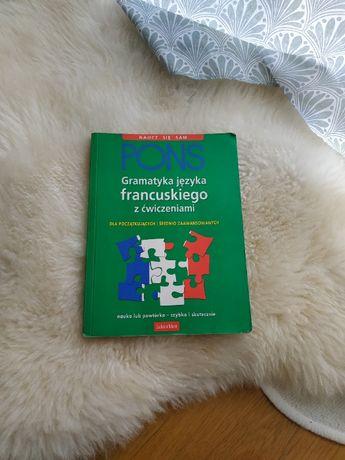 Pons gramatyka jęz. francuskiego z ćwiczeniami dla początk i srednio