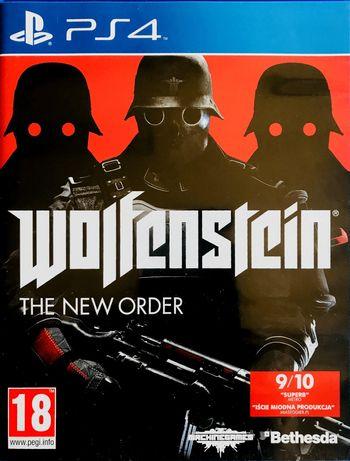 Wolfenstein Ps4 Playstation 4 WYPRZEDAZ