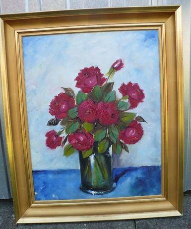 Obraz olejny Kwiaty Hariet Hansen