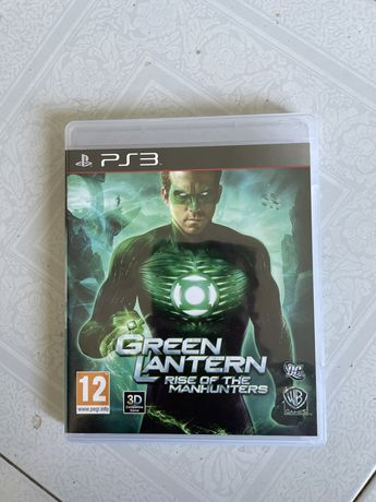 Jogo green lantern (lanterna verde) rise of the manhunters ps3