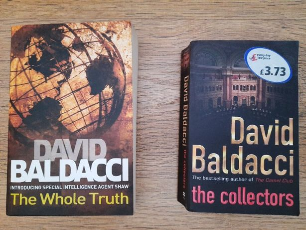 Продам 2 детективи англ.мовою David Baldacci / Девід Балдаччі