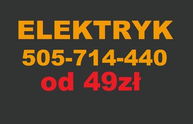 Sprawdzony Elektryk Gdynia 24h - Usługi od 49zł - Wolne terminy!