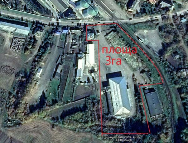 Промислова база 3Га територія Електрика , каналізація , вода.