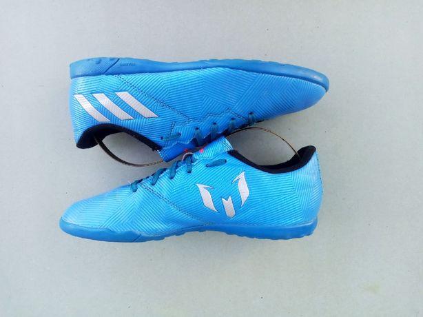 Подростковые кроссовки сороконожки залки бампы Адидас Месси Adidas