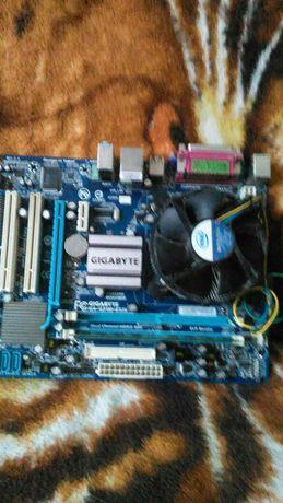 Płyta główna z kością pamięci,procesorem