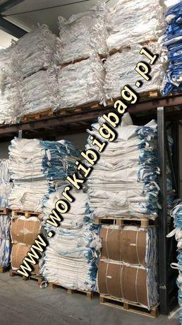 Worki big bag bagi 91x92x95 bigbag Lej Gora Lej dół BIGBAGS