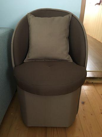 Pufa fotel krzesło siedzisko (2 sztuki)