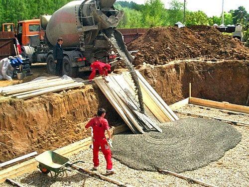 Бетон от производителя с доставкой. Услуги по укладке бетона.