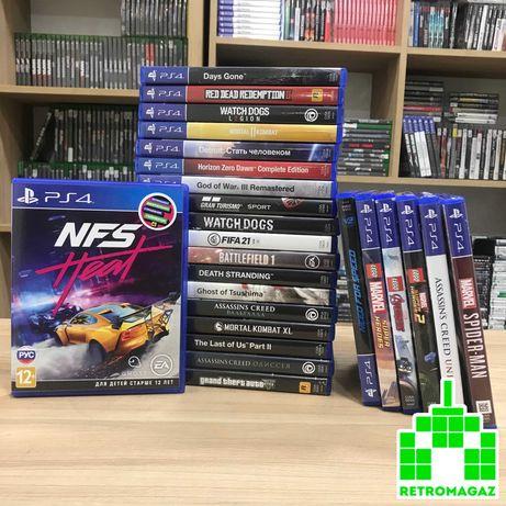 PS4 Игры БУ NFS DriveClub Batman Star Wars Battlefront 2 Mortal Kombat