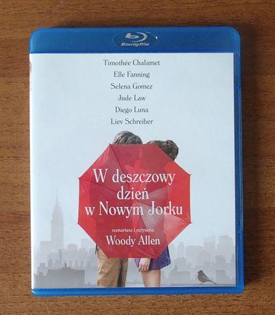 W deszczowy dzień w Nowym Jorku - Woody Allen Blu-ray Bluray PL