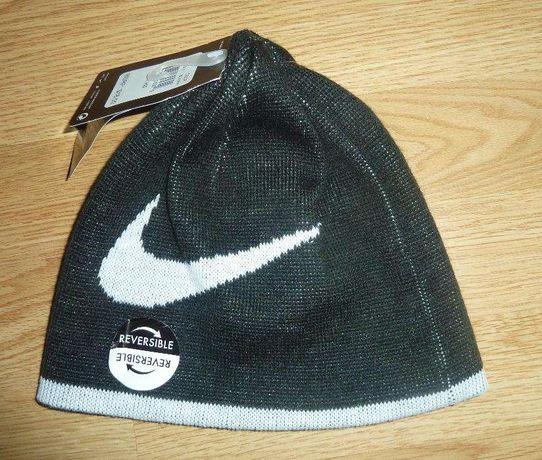 Dwustronna czapka nike nowa