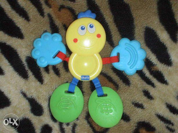 Практически новая яркая качественная игрушка Chicсo