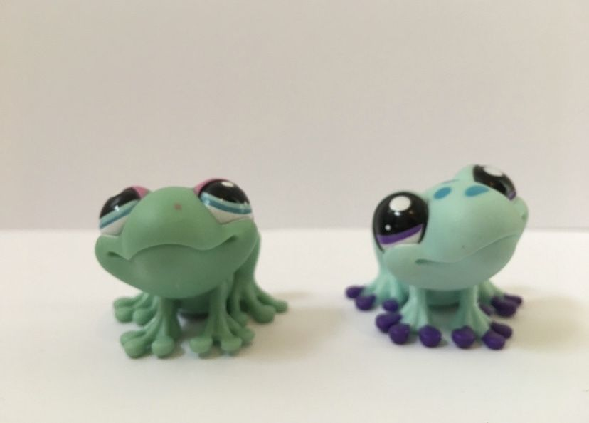LPS Littlest Pest Shop - figurki żabki Pszczyna - image 1