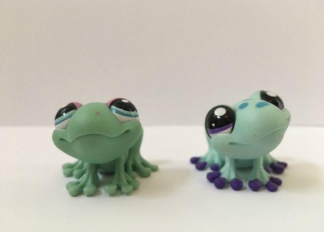 LPS Littlest Pest Shop - figurki żabki