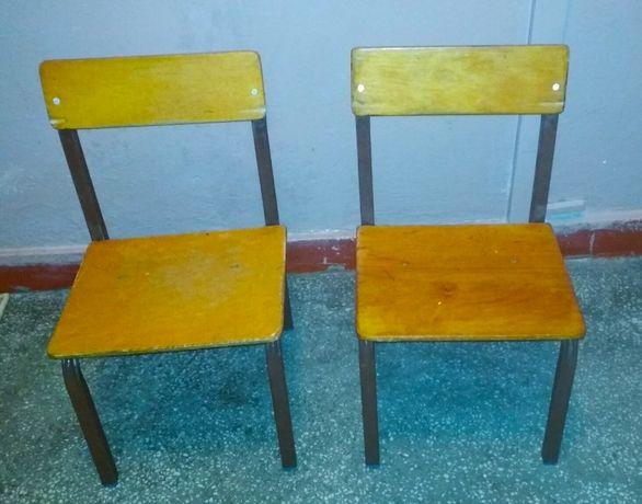 Krzesełka dziecięce (2 szt.)