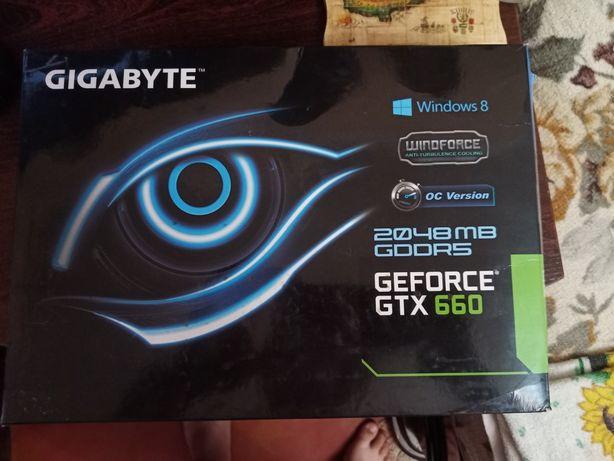 Видео карта Geforce gtx660 2gb