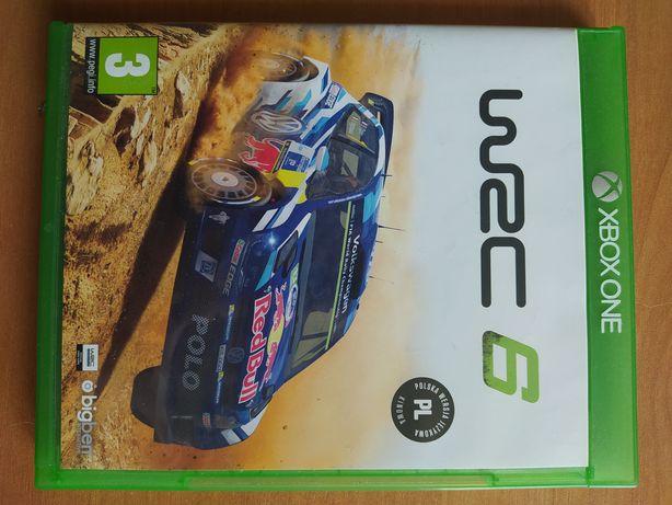 WRC 6  płyta X-BOX ONE
