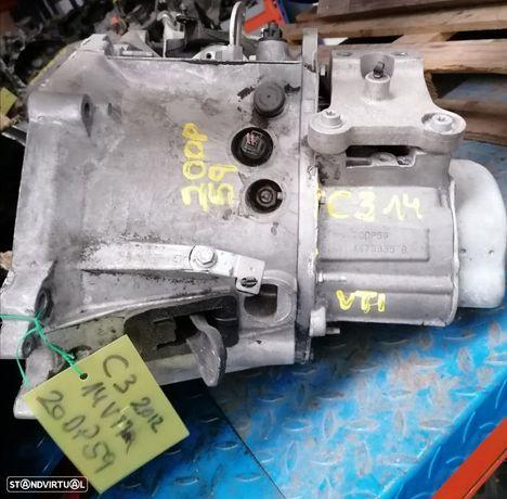 Caixa de Velocidades PSA C3 2012 1.4 16V VTI refª 20DP59