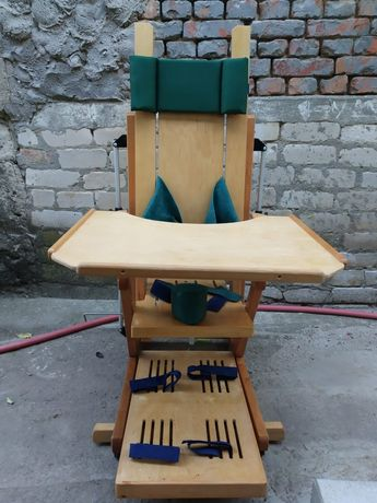 Вертикализатор + стул - парта для детей с ДЦП