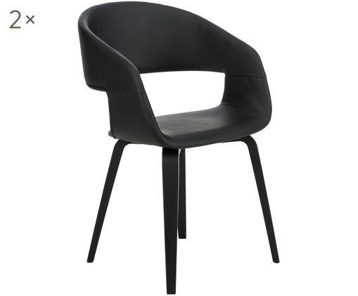 2 Krzesła z podłokietnikami Nova, 2 szt. (Westwing)
