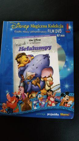 Książka z bajką i filmem na DVD hefalumpy