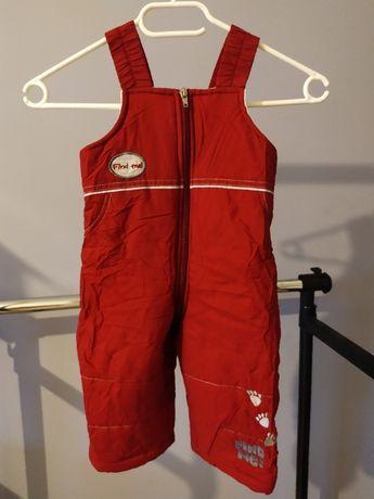 Spodnie zimowe Wójcik rozmiar 74