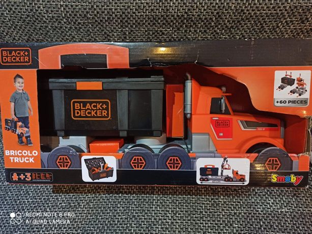 Ciężarówka black Decker