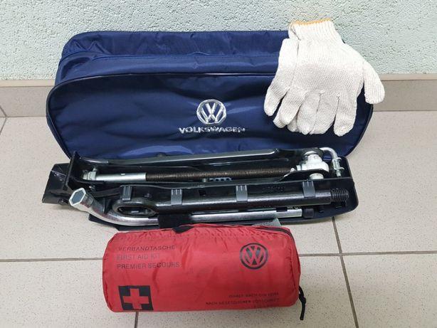 WV T5 T6 Caravella Multivan 2015 2020 Домкрат крюк сумка аптечка ключи