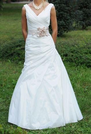 Piękna suknia ślubna 32/34 (xxs/xs), Sincerity 3611 off-white